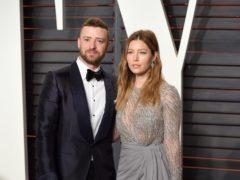Justin Timberlake and Jessica Biel (PA)