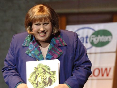 Fans joked that they are 'looking forward to dust week' as Matt Lucas joins Bake Off (Yui Mok/PA)