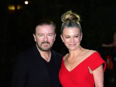 Ricky Gervais and Jane Fallon mourn death of pet cat Ollie (Ian West/PA)