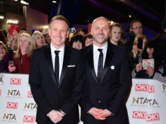 Tim Lovejoy and Simon Rimmer (Ian West/PA)