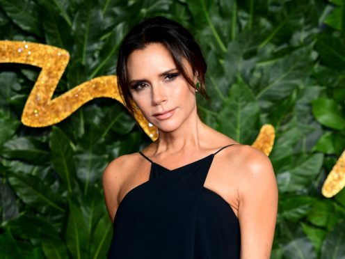 Victoria Beckham has paid tribute to her own mother on Mother's Day (PA)