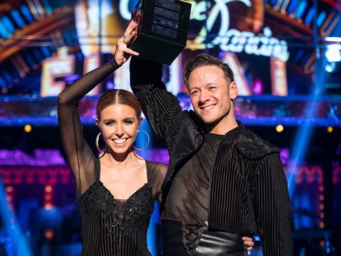Kevin Clifton is in lockdown with Stacey Dooley (Guy Levy/PA)