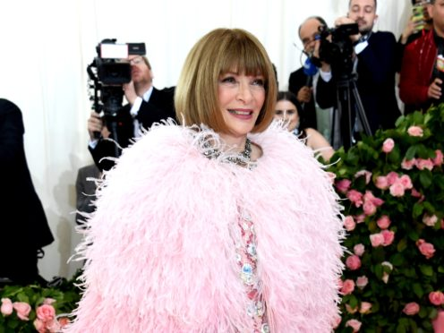 The Met Gala, one of the biggest dates in the fashion industry diary, has been postponed due to the Covid-19 pandemic, Anna Wintour has said (Jennifer Graylock/PA)