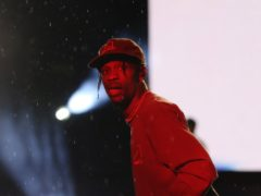 Travis Scott had been set to headline Coachella in April, however the music festival has been postponed due to the Covid-19 outbreak (Isabel Infantes/PA)