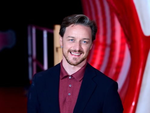 James McAvoy has donated £275,000 to a campaign to provide personal protective equipment for NHS staff (Ian West/PA)