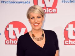 Steph McGovern will broadcast her new show live from her home (Matt Crossick/PA)