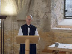 Justin Welby said the UK is caught between the need to 'keep life going' and 'necessary imposed isolation' amid the coronavirus pandemic (Lambeth Palace/PA)