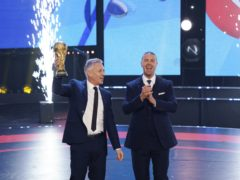 Gary Lineker and Paddy McGuinness were among the hosts of Sport Relief, which raised millions for charity (James Stack/BBC/PA)