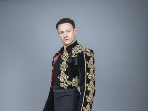 Kevin Clifton is taking on the role of Scott Hastings (Dave Hogan/PA)