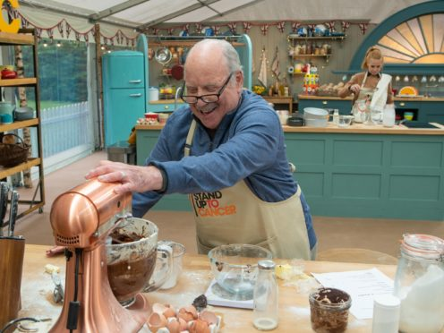 No cakes in Hollywood? Richard Dreyfuss 'never baked' before Celebrity Bake Off (Mark Bourdillon/Love Productions/Channel 4)