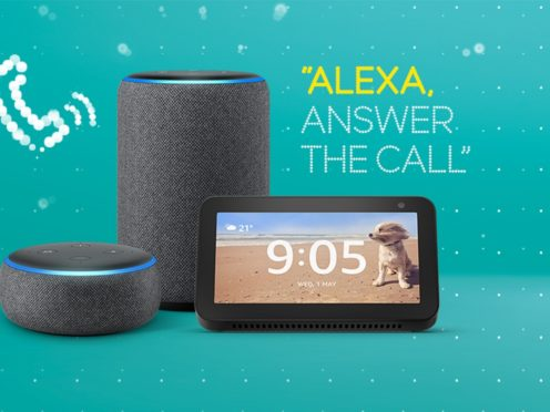 Amazon Echo smart speakers can now be used to answer phone calls by EE pay monthly customers (Amazon/EE)