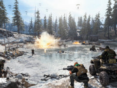 An image of a fight scene from Call Of Duty: Warzone (Activision/PA)