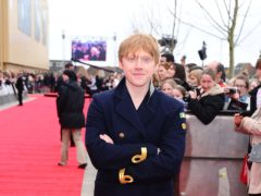 Rupert Grint arrives at the grand opening of the Warner Brothers Studio Tour – The Making of Harry Potter, at the Leavesdon Studios in London.