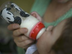 Milk allergy is most common in children under two years old (Philip Toscano/PA)