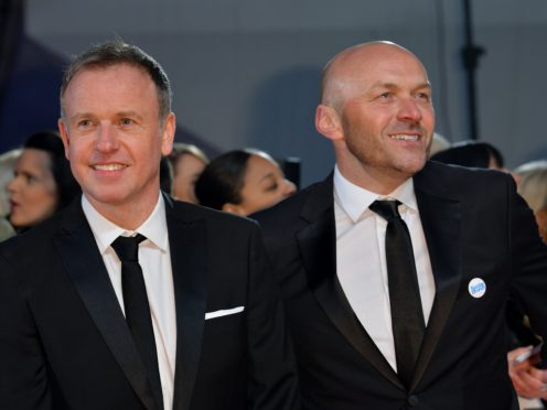Tim Lovejoy and Simon Rimmer (Matt Crossick/PA)