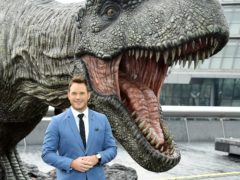 Actor Chris Pratt may have won the All-In Challenge – by offering fans the chance to be eaten by a dinosaur in the new Jurassic World film (Ian West/PA)