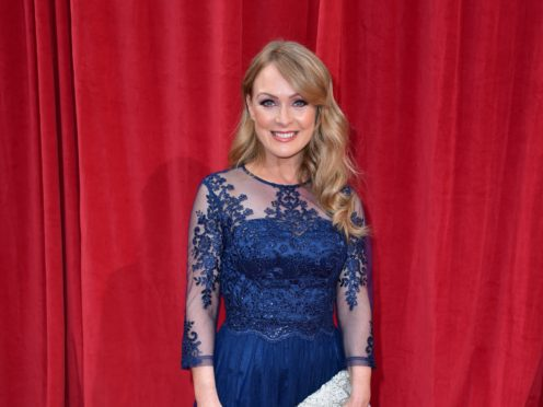 Emmerdale actress Michelle Hardwick has announced she and her TV producer wife are expecting their first child together (Matt Crossick/PA Wire)