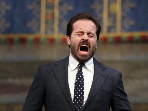 English tenor and actor Alfie Boe (PA)