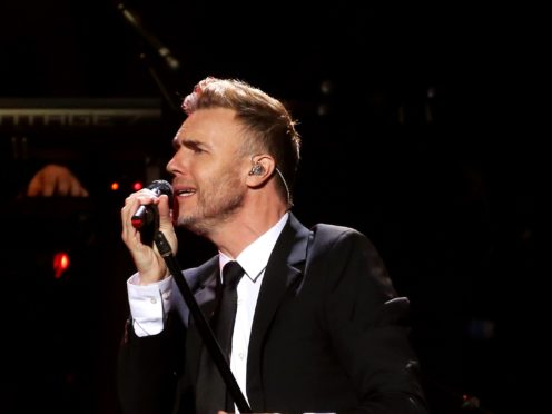 Gary Barlow invited Australian pop star Jason Donovan for a live duet over Instagram while isolating amid the coronavirus pandemic (Isabel Infantes/PA Wire)