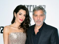 George and Amal Clooney have donated more than one million dollars (£807,000) to the coronavirus relief effort, including money for the NHS (Ian West/PA)