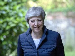 Former PM Theresa May is to be an ambassador for diabetes research charity JDRF amd hlep promote its Connect Immune Research initiative (Steve Parsons/PA)