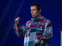 Liam Gallagher has donated items including a pair of signed trainers to the raffle (Aaron Chown/PA)