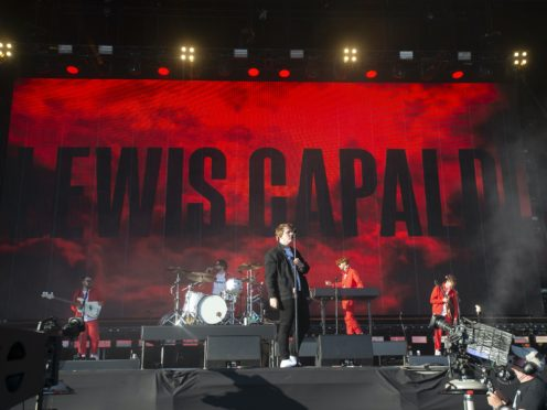 Lewis Capaldi performs on the TRNSMT main stage last year (Lesley Martin/PA)