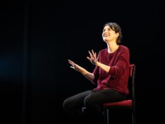 Phoebe Waller-Bridge starring in the one-woman show Fleabag (Matt Humphrey/The Corner Shop)