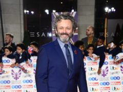 Michael Sheen has previously played Tony Blair, David Frost and Brian Clough (Ian West/PA)