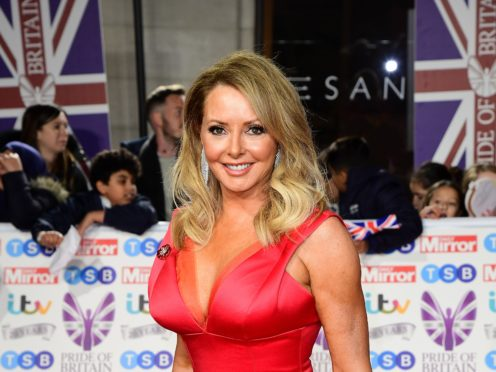 Former Countdown star Carol Vorderman has been crowned the winner of Channel 4's Celebrity Bake Off (Ian West/PA)