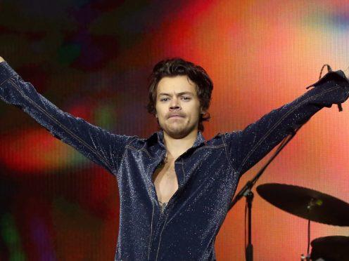 Harry Styles is in lockdown in Los Angeles (Isabel Infantes/PA)