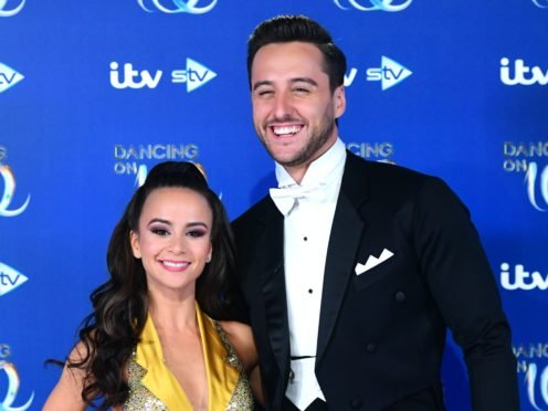 Carlotta Edwards and Alexander Demetriou have separated (Ian West/PA)