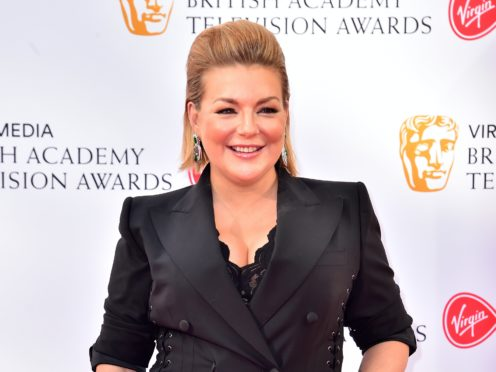 Sheridan Smith's episode of Isolation Stories was filmed by her fiance (Matt Crossick/PA)