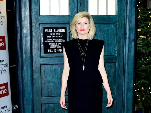 Jodie Whittaker stars in the video (Ian West/PA)