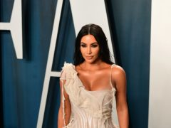 Kim Kardashian West is offering a lucky fan the chance to win lunch with her and her famous sisters as part of the All-In Challenge (Ian West/PA)