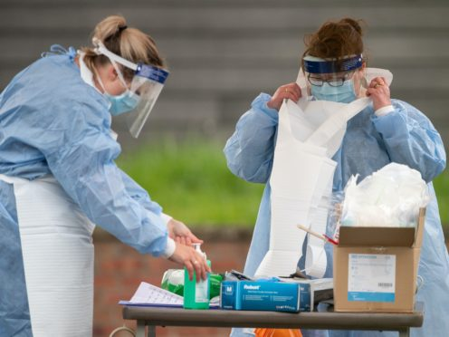 Mass testing is the best way to contain coronavirus, according to scientists (Joe Giddens/PA)