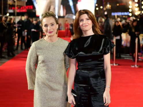 Kristin Scott Thomas and Sharon Horgan starred together in Military Wives (Ian West/PA)