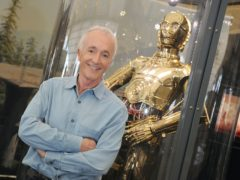 Anthony Daniels and his most famous character C-3PO (Ian West/PA)