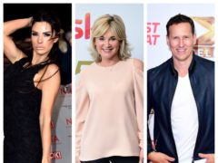Katie Price, Anthea Turner and Brendan Cole star in the new series (PA)