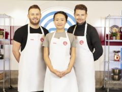 David, Sandy and Thomas will battle it out to be crowned winner of MasterChef (BBC/PA)