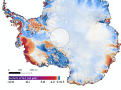 Ice melt in Antarctica (University of Washington/PA)