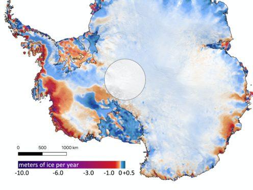 Ice melt in Antarctica (University of Washington/PA)