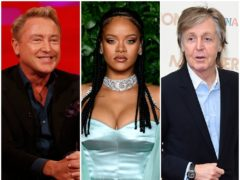 Michael Flatley, Rihanna and Sir Paul McCartney are on the Sunday Times Rich List (PA)