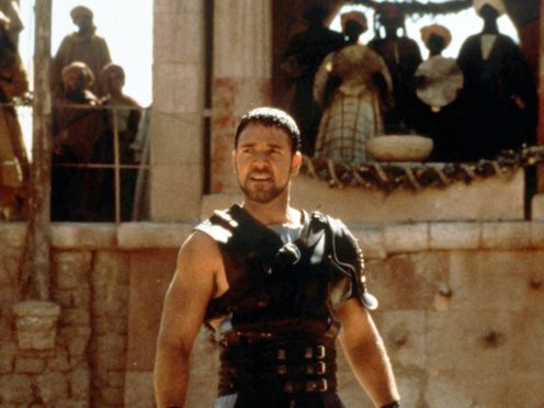 Russell Crowe starred in Gladiator, which arrived in UK cinemas 20 years ago this week (Universal Pictures/PA)