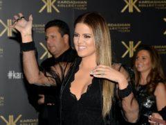Khloe Kardashian (Andrew Matthews/PA)