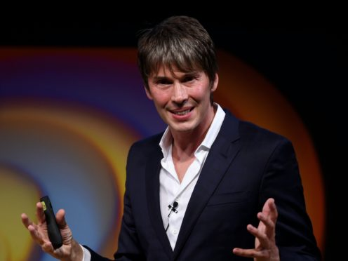 Professor Brian Cox says he thinks politicians are using the 'follow the science' mantra as a way of avoiding difficult questions (Joe Giddens/PA)
