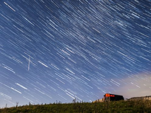 Meteor shower (Danny Lawson/PA)