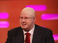 Matt Lucas welcomed a special guest for a duet of his single Thank You Baked Potato (Isabel Infantes/PA)