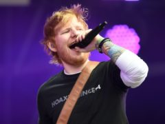 Ed Sheeran also topped the list last year (Ben Birchall/PA)