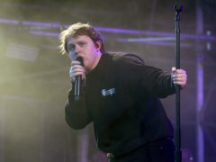 Lewis Capaldi is back at the top of the album chart (Steve Parsons/PA)